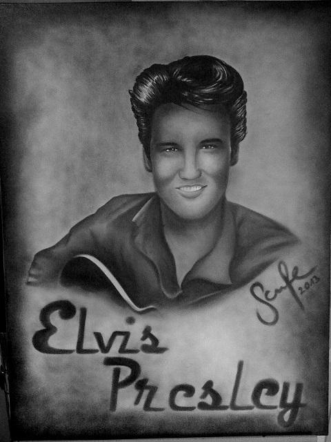Elvis Presley by SarahMaria